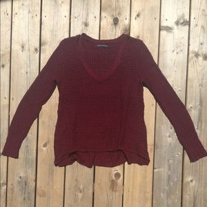 American Eagle Knit Sweater w Shoulder Cut Out